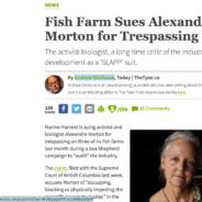 Update on Alexandra Morton