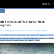 Earth's Magnetic Fields Could Track Ocean Heat, NASA Study Proposes